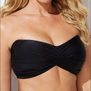 Swimsuits For All Swim - Swimsuits For All NWT Valentine Bandeau Bikini Top